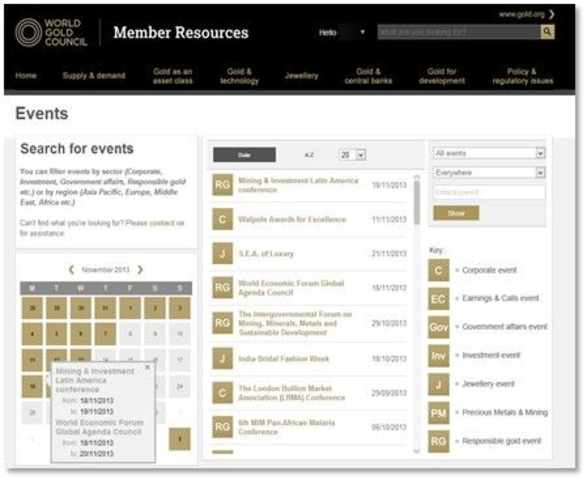 Calendars and Event Management System (EMS)